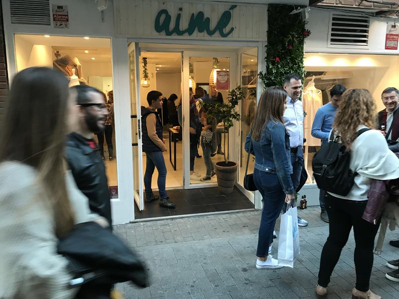La franquicia aimé firma una nueva tienda en Madrid