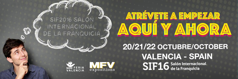 aimé presente en el Salón Internacional de la Franquicia de Valencia SIF&Co