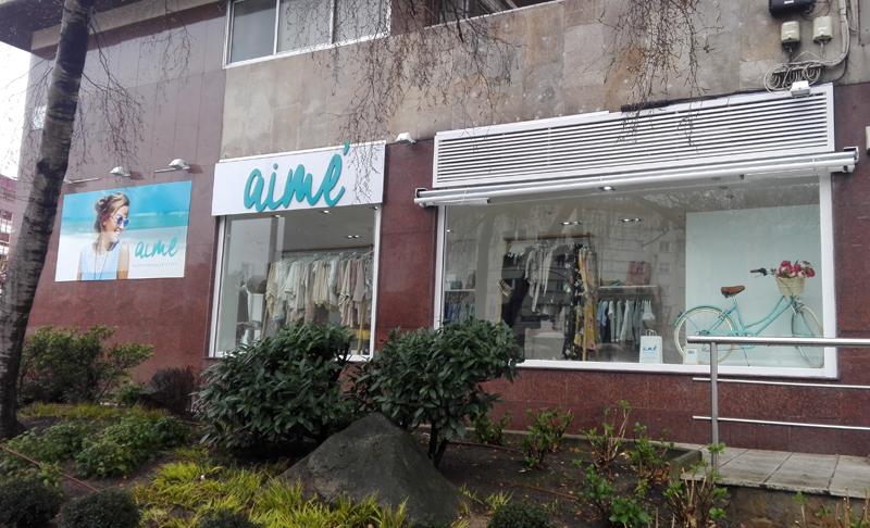 aimé abre sus puertas a la nueva tienda en Vigo